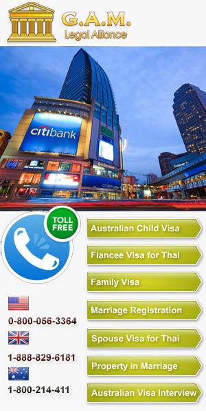 Australian Visa in Thailand
